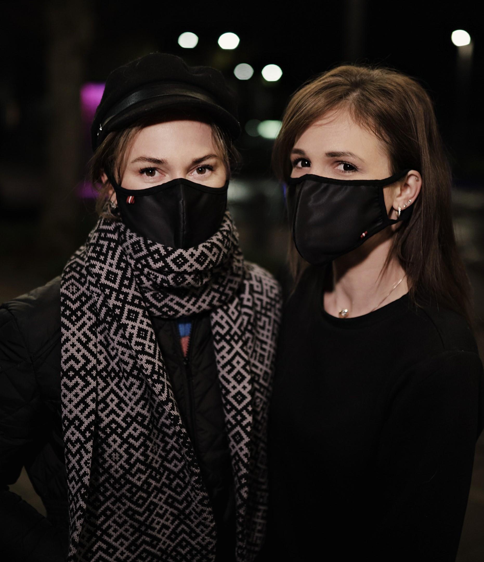 Dubulta kokvilnas sejas maska